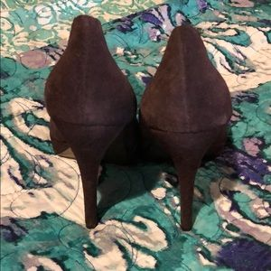 Charles David Shoes - Charles by Charles David Brown Suede Pumps Size 8